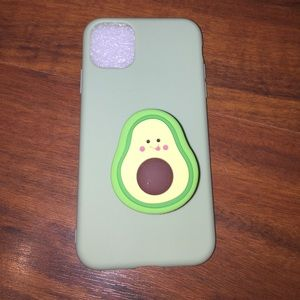 iPhone 11 case with popsocket